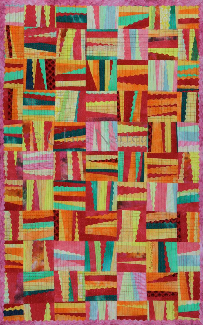 Abstract Art by Clara Nartey - Hello Royal