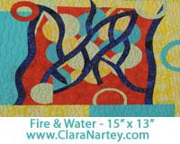 Fire and Water -www.ClaraNartey.com