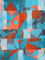 Textile Art- Shadows by Clara Nartey