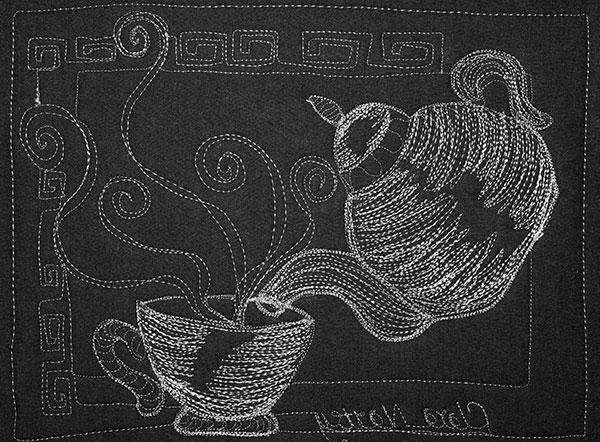 Thread Sketching Kit for English Breakfast