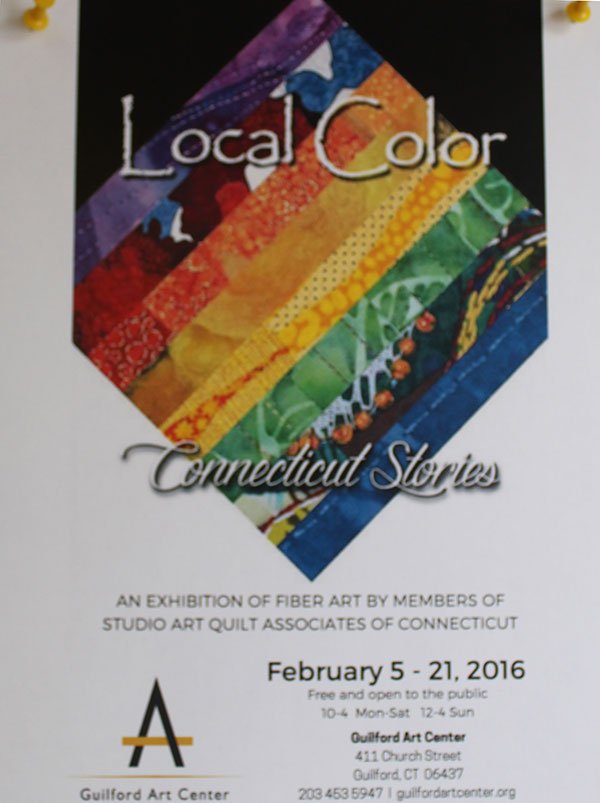 Guilford Art Center Showing Local Color 2016