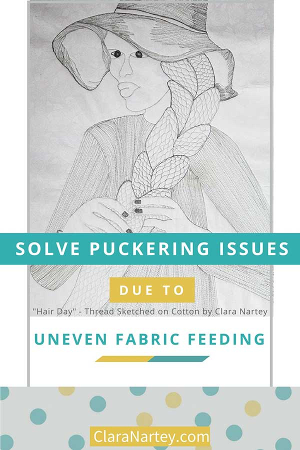 Solve puckering caused by Uneven Fabric Feeding