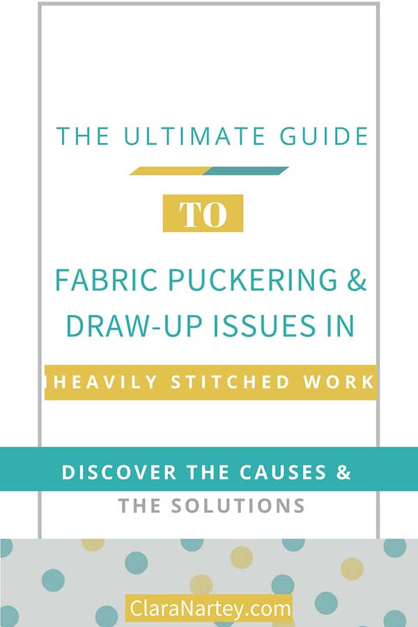 Ultimate Guide to Seam Puckering & Fabric Draw-Up Issues