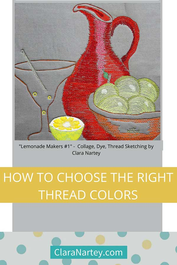 How to choose the right thread colors for your project