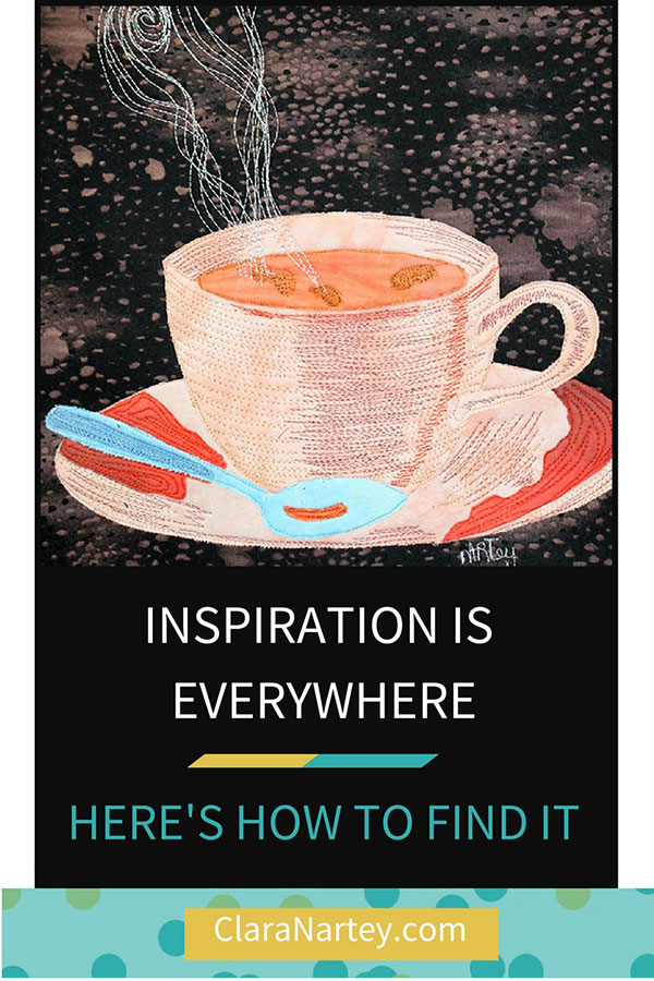 Inspiration is everywhere. Here's how to find it