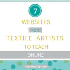 7 Top Websites to Teach Textile Art Online