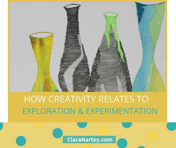 creativity is exploration