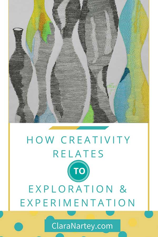 Here's the real way to approach creativity:- as an exploration