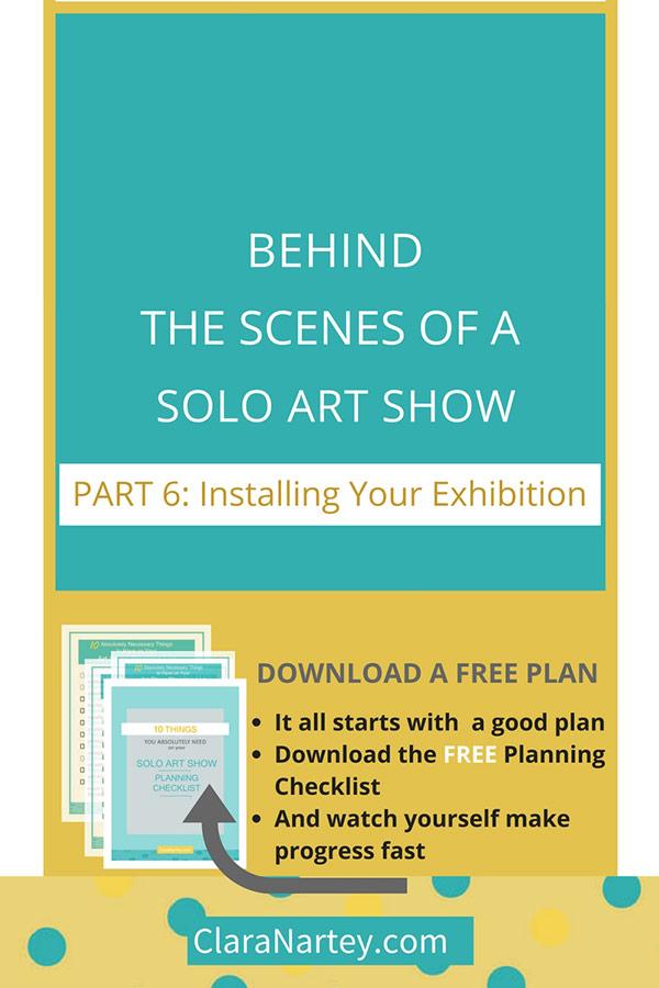 Installing Art Exhibition | Hanging Art Quilt Show