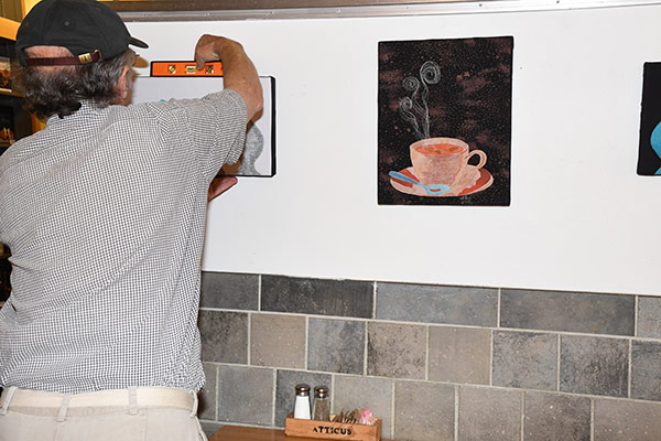 installing your exhibition