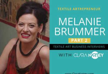 How Creatives make money | Textile Art Business Interviews | Melanie Brummer