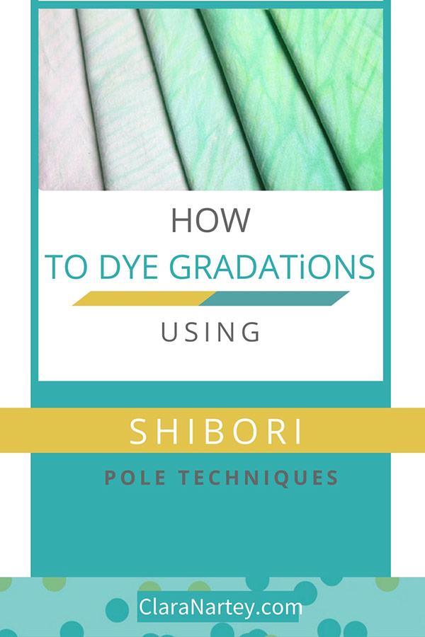 FREE Tutorial  Shibori Gradation Dyeing Tutorial  Shibori pole Techniques  MX Procyon Dyes