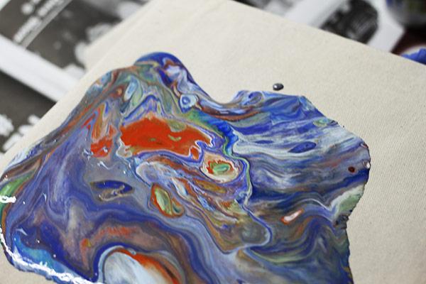 Acrylic Pour Experiment