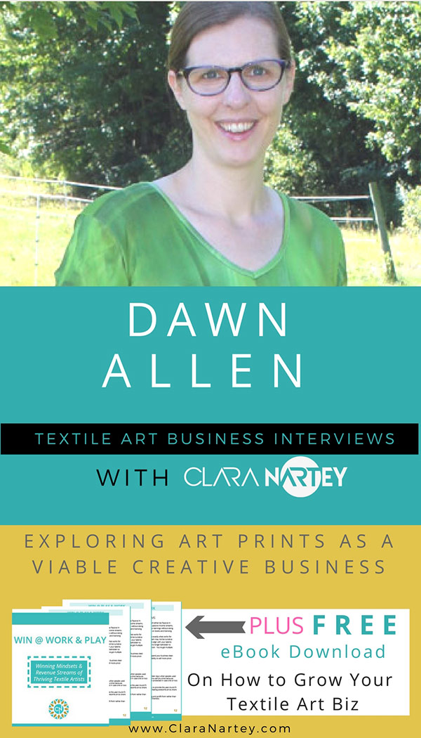 Artist Dawn Allen Interview | How to Make and Sell Digital Art Prints