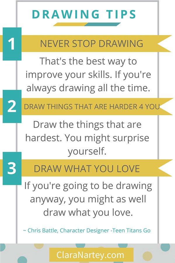 Drawing Tips By Chris Battle