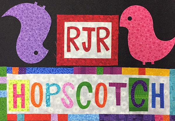 """Hopscotch"" - A Fabric Line by Jamie Fingal for RJR Fabrics"