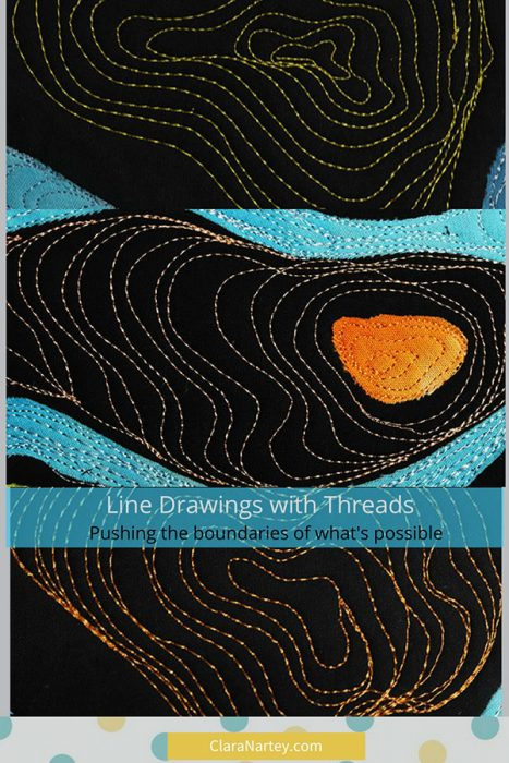 Line Drawings with Threads