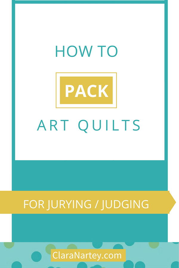 How to Submit Art Quilts for Jurying