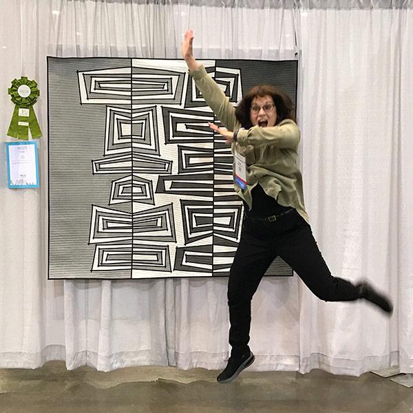 Textile art coaching | Sue Bleiweiss | Fiber Art Business