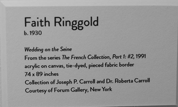 Faith Ringgold- Handmade- Women Reshaping Contemporary Art