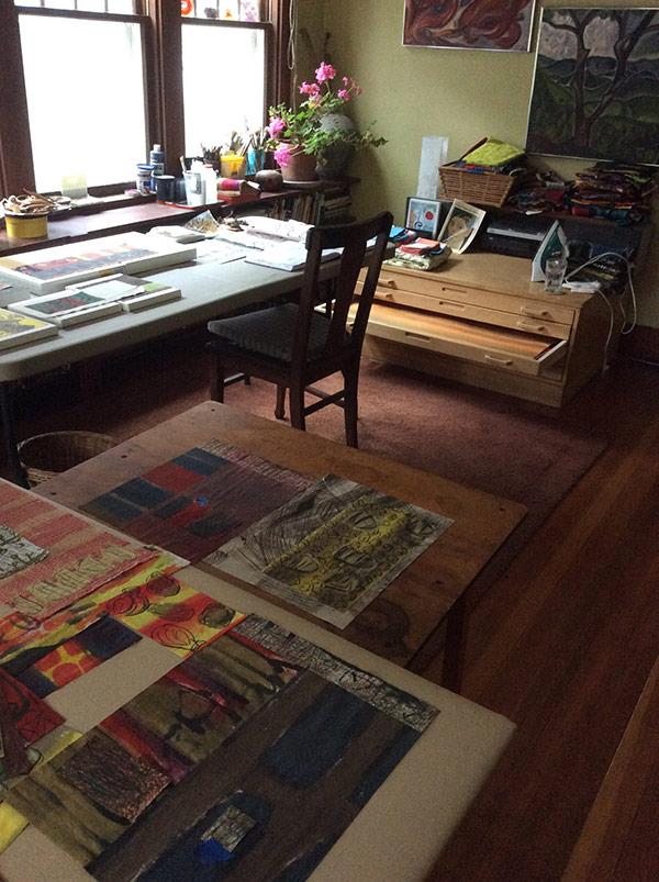 Astrid Bennett | Gallery Representation | Textiles in Art Gallery | Selling Fiber Art in Craft Shops | Marketing textile art| Fiber Art marketing | Art Quilt Sales | Iowa Artisans Gallery