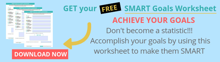 FREE SMART Goals Worksheet Download