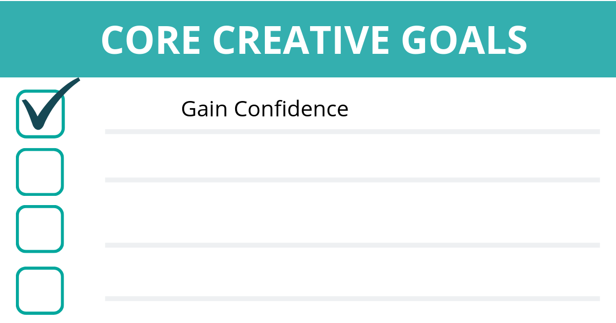 Core creative Goals set the direction for your creative life | Goal setting | Creative Goals| #Goals