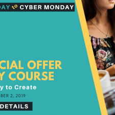 A Special Black Friday Through Cyber Monday Offer