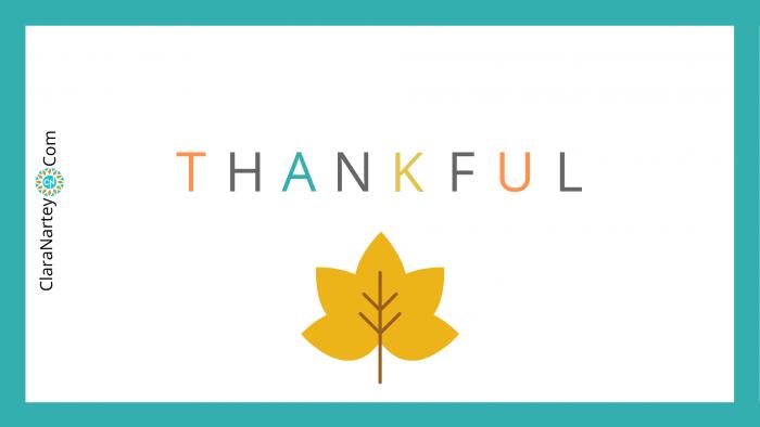Thankful | Grateful | Gratitude