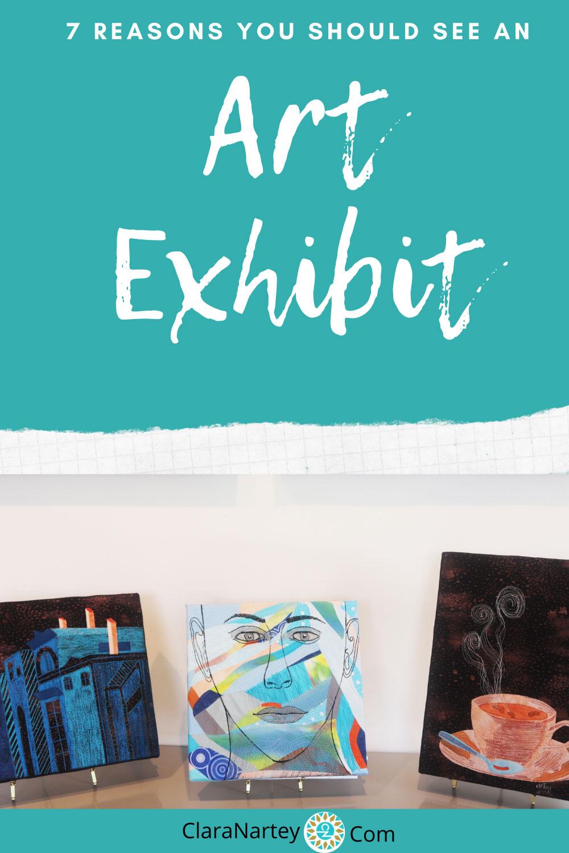 art exhibit, art show, textile art exhibit, art exhibition