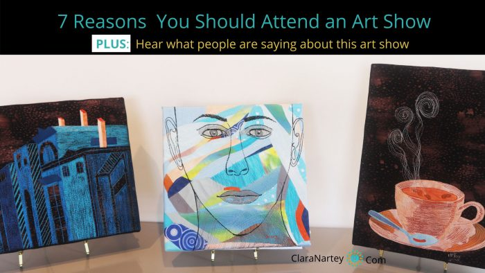 Why you should attend an art exhibit