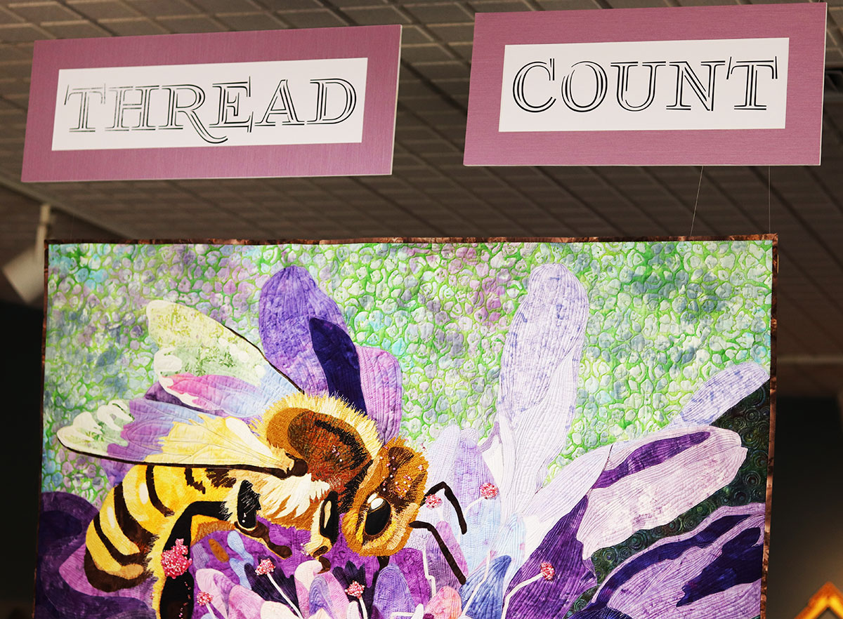 Thread Count - Fiber Art Exhibition at Hartford Fine Art Gallery