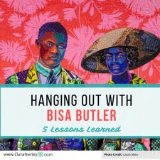 Hanging Out with Bisa Butler  and the Broom Jumpers – 5 Lessons I learned