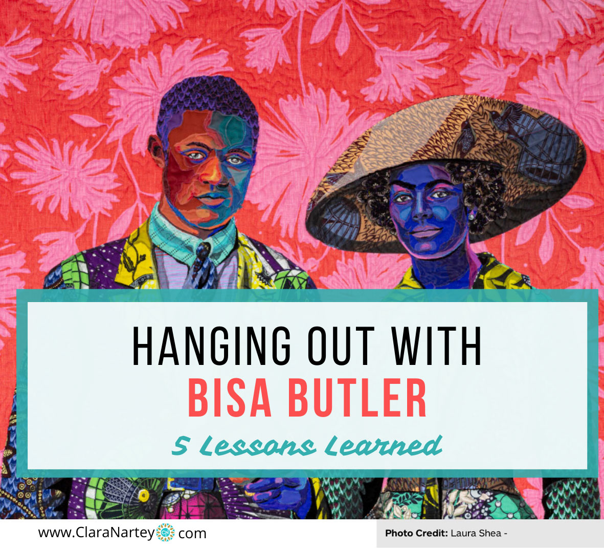 Hanging out with Bisa Butler