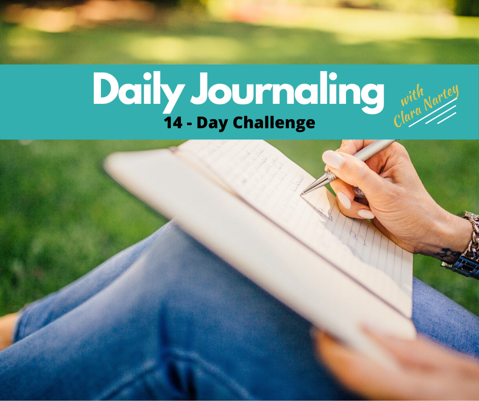 daily journaling challenge | journal |writing | self-discovery |