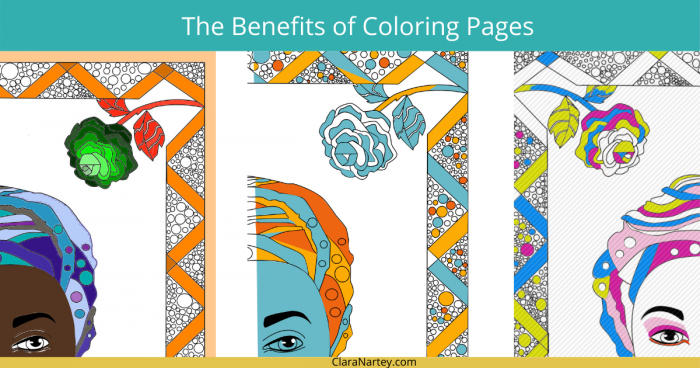 Benefits of Coloring | Coloring pages | Art kit